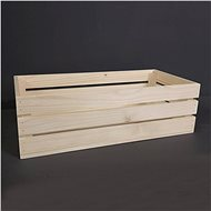 AMADEA Wooden Box made of Solid Wood, 50x24x15cm - Storage Box