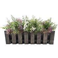 AMADEA Wooden Case for a Dark Box, 62x21,5x18cm - Flower Box