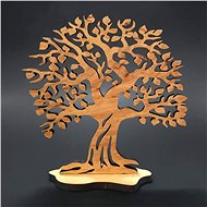 AMADEA Wooden Upright Tree, Solid Wood, Height of 19cm - Decoration