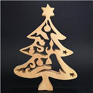AMADEA Solid Christmas Tree 28cm - Decoration