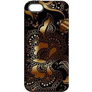 "MojePouzdro ""Zlato-černá"" + ochranné sklo pro iPhone 6/6S - Ochranný kryt by Alza"