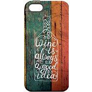 """MojePouzdro """"Dobrý nápad"""" + ochranné sklo pro iPhone 6/6S - Ochranný kryt by Alza"""