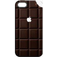 """MojePouzdro """"Čokoláda"""" + ochranné sklo pro iPhone 6/6S - Ochranný kryt by Alza"""