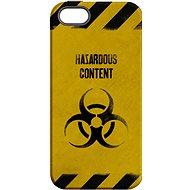 "MojePouzdro ""Na vlastní riziko"" + ochranné sklo pro iPhone 6/6S - Ochranný kryt by Alza"