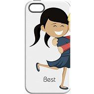 """MojePouzdro """"Nejlepší přítel 1"""" + ochranné sklo pro iPhone 7 - Ochranný kryt by Alza"""