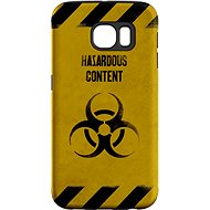 """MojePouzdro """"Na vlastní riziko"""" + ochranné sklo pro Samsung Galaxy S6 - Ochranný kryt by Alza"""