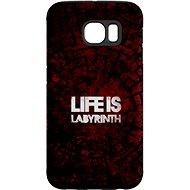 """MojePouzdro """"Život je labyrint"""" + ochranné sklo pro Samsung Galaxy S6 - Ochranný kryt by Alza"""