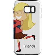 """MojePouzdro """"Nejlepší přítel 2"""" + ochranné sklo pro Samsung Galaxy S6 - Ochranný kryt by Alza"""
