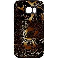 """MojePouzdro """"Zlato-černá"""" + ochranné sklo pro Samsung Galaxy S7 - Ochranný kryt by Alza"""