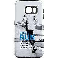 "MojePouzdro ""Zrozen k běhu"" + ochranné sklo pro Samsung Galaxy S7 - Ochranný kryt by Alza"