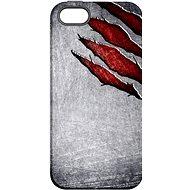 """MojePouzdro """"Lví drápy"""" + ochranné sklo pro iPhone 5s/SE - Ochranný kryt by Alza"""