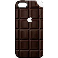 """MojePouzdro """"Čokoláda"""" + ochranné sklo pro iPhone 5s/SE - Ochranný kryt by Alza"""