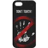 """MojePouzdro """"Nesahat !"""" + ochranné sklo pro iPhone 5s/SE - Ochranný kryt by Alza"""