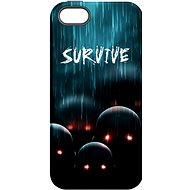 "MojePouzdro ""Zombie"" + ochranné sklo pro iPhone 5s/SE - Ochranný kryt by Alza"