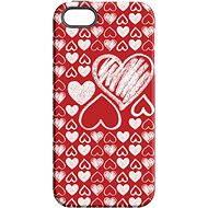 "MojePouzdro ""Láska"" + ochranné sklo pro iPhone 5s/SE - Ochranný kryt by Alza"