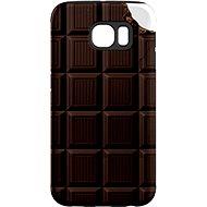 """MojePouzdro """"Čokoláda"""" + ochranná fólie pro Samsung Galaxy S6 Edge - Ochranný kryt by Alza"""
