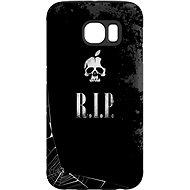 """MojePouzdro """"R.I.P."""" + ochranná fólie pro Samsung Galaxy S6 Edge - Ochranný kryt by Alza"""