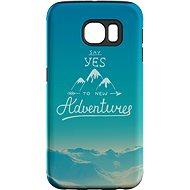 """MojePouzdro """"Dobrodružství"""" + ochranná fólie pro Samsung Galaxy S7 Edge - Ochranný kryt by Alza"""