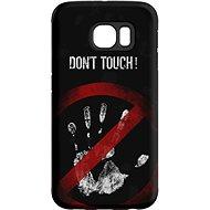 """MojePouzdro """"Nesahat !"""" + ochranná fólie pro Samsung Galaxy S7 Edge - Ochranný kryt by Alza"""