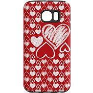 """MojePouzdro """"Láska"""" + ochranná fólie pro Samsung Galaxy S7 Edge - Ochranný kryt by Alza"""