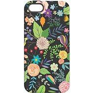 "MojePouzdro ""Noční zahrada"" + ochranné sklo pro iPhone 5s/SE - Ochranný kryt by Alza"
