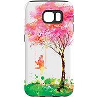 """MojePouzdro """"Strom štěstí"""" + ochranné sklo pro Samsung Galaxy S7 - Ochranný kryt by Alza"""