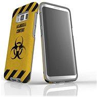 """MojePouzdro """"Na vlastní riziko"""" + ochranné sklo pro Samsung Galaxy S8 - Ochranný kryt by Alza"""