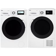 AMICO PPF 82232 BSW + AMICA SUPF 923 W - Washer and dryer set