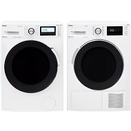 AMICA PPF 9423 BSIW + AMICA SUPF 822 W - Washer and dryer set