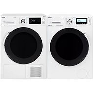AMICA PPF 9423 BSIW + AMICA SUPF 923 W - Washer and dryer set