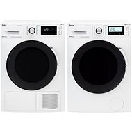 AMICA PPF 9423 BSIW + AMICA SUPF 8232 W - Washer and dryer set
