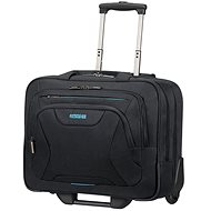 """American Tourister AT WORK ROLLING TOTE 15.6"""" Black - Brašna na notebook"""