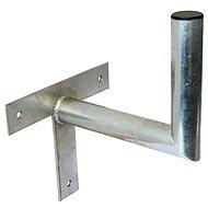 Tříbodový pozinkovaný držák, 250/120/28, 25 cm od zdi - Konzole