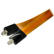 Okenní průchodka 0.3m, konektory F - Anténní kabel