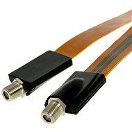 Okenní průchodka 0.5m, konektory F - Anténní kabel