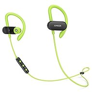 Anker SoundBuds Curve Earphones Black/Green - Headphones with Mic