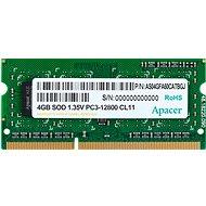 Apacer SO-DIMM 4GB DDR3 1600MHz CL11 - Operační paměť