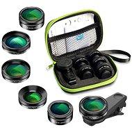 Apexel sada objektivů pro smartphone, mobily 6v1 - Objektiv pro mobilní telefon