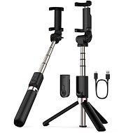 Apexel Selfie tyč Tripod 3-in-1 s dálkovým ovládáním