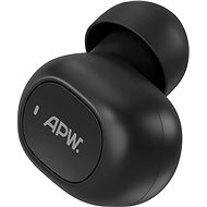 AlzaPower Shpunty černá - levé sluchátko - Náhradní díl