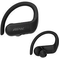 AlzaPower BENDERS černá - Bezdrátová sluchátka