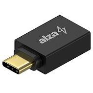 AlzaPower OTG USB-C (M) na USB-A 3.0 (F) černá - Redukce