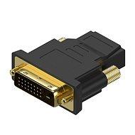 AlzaPower DVI-D (24+1) (M) na HDMI (F) - Adaptér