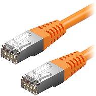 AlzaPower Patch CAT5E FTP 0.5m zelený - Síťový kabel