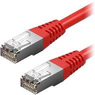 AlzaPower Patch CAT5E FTP 0.5m červený - Síťový kabel