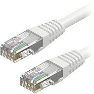 AlzaPower Patch CAT5E UTP 2m bílý - Síťový kabel