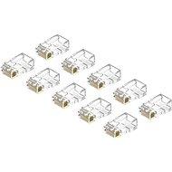 AlzaPower Patch CAT6 UTP RJ45 8p8c nestíněný skládaný na drát 10-pack - Konektor