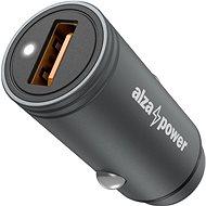 AlzaPower Car Charger X510 Fast Charge šedá - Nabíječka do auta