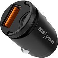 AlzaPower Car Charger M110 Fast Charge Mini černá - Nabíječka do auta