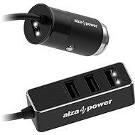 AlzaPower Car Charger X540 Multi Charge černá - Nabíječka do auta